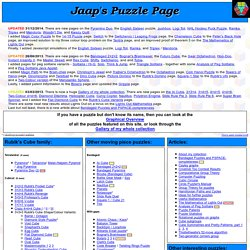 Jaap's Puzzle Page