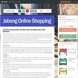 Summer Accessories For Men - Jabong