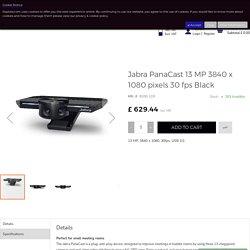 Buy Jabra PanaCast 13 MP 3840 x 1080 pixels 30 fps Black