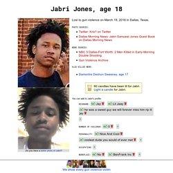 Jabri Jones, age18