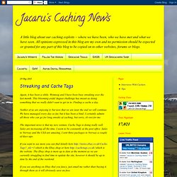Jacaru's Caching News
