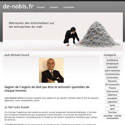Jack Michael Sword - de-nobis.fr