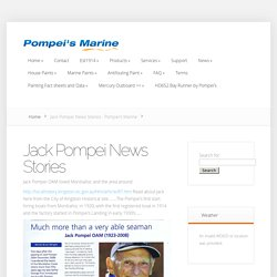 Jack Pompei News Stories - Pompei's Marine