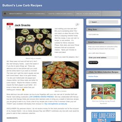 Buttoni's Low Carb Recipes