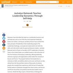 Jackalyn Rainosek Teaches Leadership Dynamics Through Self-Help
