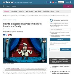 How to play Jackbox games online with friends