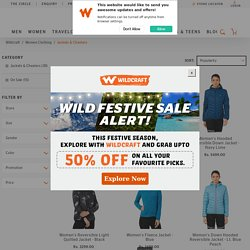 Jackets, Cheaters & Vests for Women Online