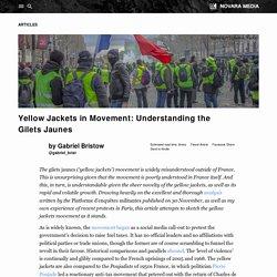 Yellow Jackets in Movement: Understanding the Gilets Jaunes