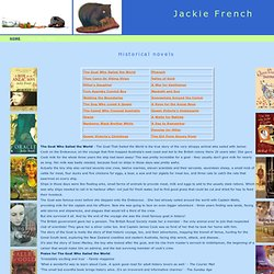 Jackie French historical books