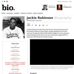 Jackie Robinson - Biography - Baseball Player