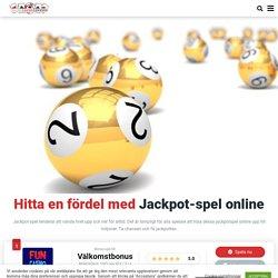 Spela Jackpottspel Online
