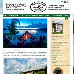 Jackson's Lodge and Log CabinsImage Magazine - Jackson's Lodge and Log Cabins