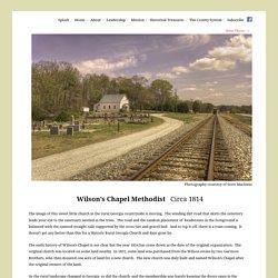 Wilson's Chapel – Jackson - Historic Rural Churches of Georgia