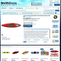 Jackson Rogue Touring Kayak - Jackson from NorthShore Watersports UK