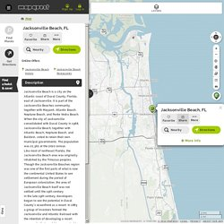 Jacksonville Beach, FL - Jacksonville Beach, Florida Map & Directions - MapQuest
