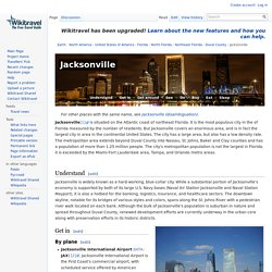 Jacksonville travel guide