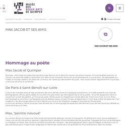 Max Jacob et ses amis - Musée des beaux-arts de la ville de Quimper