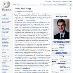 Jacob Rees-Mogg