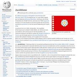 Les Jacobites, soutien du Roi catholique Jacques II