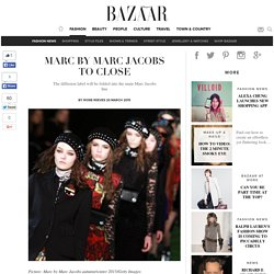 Marc by Marc Jacobs to close
