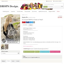 "Santa Fe / DROPS 173-1 - Sac jacquard DROPS au crochet, en ""Nepal"". - Modèle gratuit de DROPS Design"