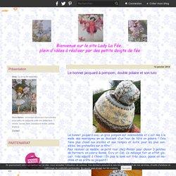 Le bonnet jacquard à pompom, doublé polaire et son tuto - Le blog de ladylafee