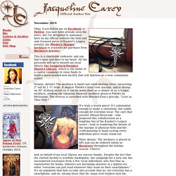 Jacqueline Carey's Official Author Site