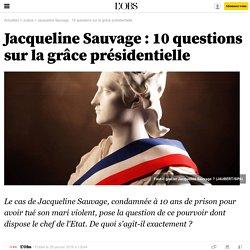 Jacqueline Sauvage : 10 questions sur la grâce présidentielle - 29 janvier 2016