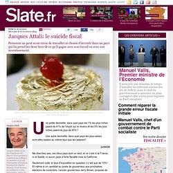 Jacques Attali: le suicide fiscal