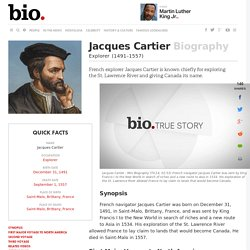 Jacques Cartier - Biography - Explorer