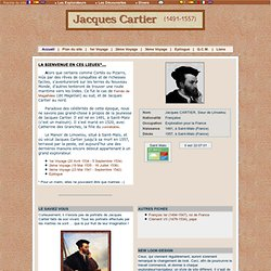 Jacques Cartier - Biographie (1491-1557)