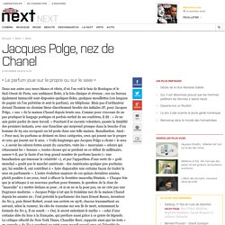 Jacques Polge, nez de Chanel