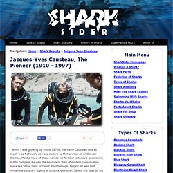 About Jacques-Yves Cousteau
