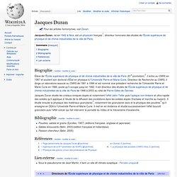 Jacques Duran