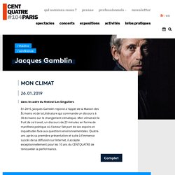 Jacques Gamblin - Mon climat