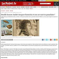 Doodle honore André-Jacques Garnerin et son 1er saut en parachute !
