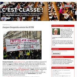 Jacques Grosperrin enterre les IUFM