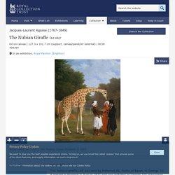 Jacques-Laurent Agasse (1767-1849) - The Nubian Giraffe
