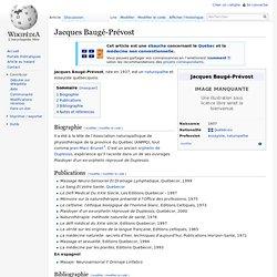 Jacques Baugé-Prévost