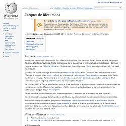 Jacques de Ricaumont