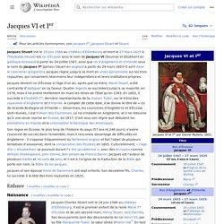 Jacques VI et Ier