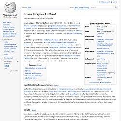 Jean-Jacques Laffont