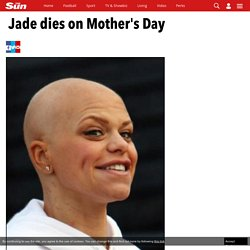 Jade Goody has died after she lost her battle with cancer