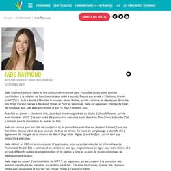 Jade Raymond - Les Tablettistes