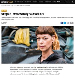 Why Jadis Left The Walking Dead With Rick