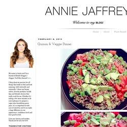Annie Jaffrey: Quinoa & Veggie Dinner