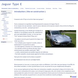 Jaguar Type E