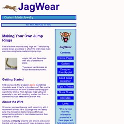 JagWear Jump Rings Tutorial