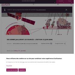 Des gerbes jailliront les sources - L'Edition 13 (juin 2020)