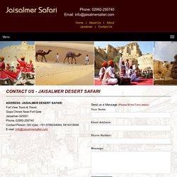 jaisalmer desert safari Rajasthan
